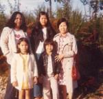 Mes 3 sœurs et ma mère